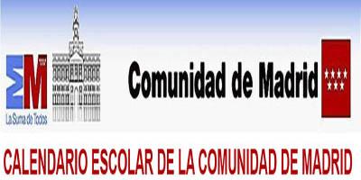 Calendario Escolar Madrid.Calendario Escolar Para El Curso 2018 19 En La C De Madrid